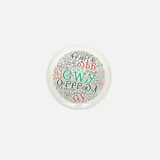 Cute Cherokee Mini Button
