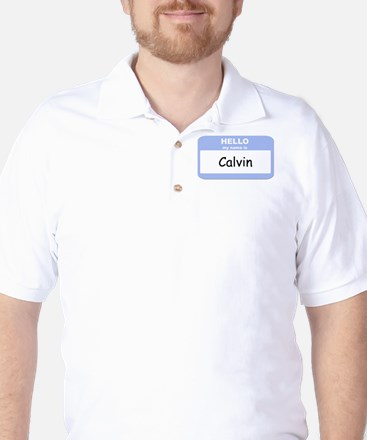 My Name is Calvin Golf Shirt