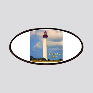 Cape May Light Watercolor Patch