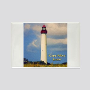 Cape May Light Watercolor Magnets