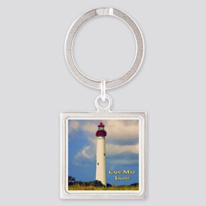 Cape May Light Watercolor Keychains