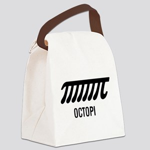 Octopi has eight arms Canvas Lunch Bag