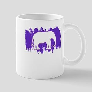 Purple Elephant Mugs