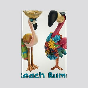 Flamingo Beach Bums Magnets