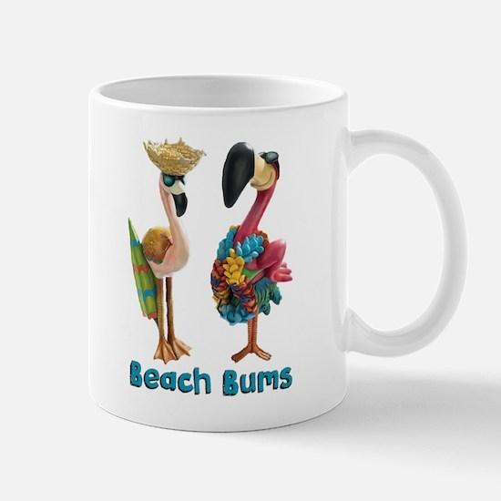 Flamingo Beach Bums Mugs
