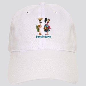Flamingo Beach Bums Baseball Cap