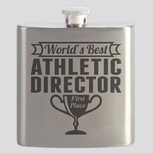 World's Best Athletic Director Flask