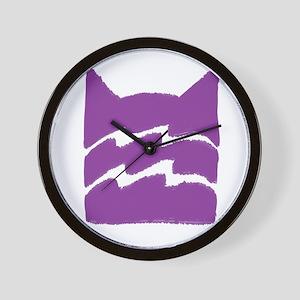 Riverclan PURPLE Wall Clock