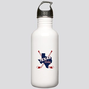 Texas Hockey Stainless Water Bottle 1.0L
