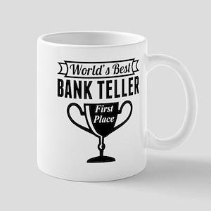 World's Best Bank Teller Mugs