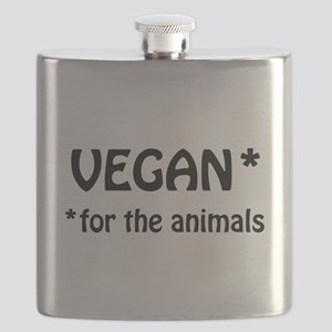 Vegan for the Animals Flask