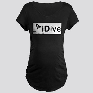 iDive Maternity Dark T-Shirt