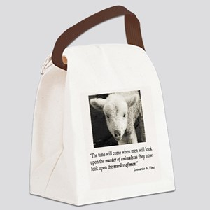 Murder2 Canvas Lunch Bag