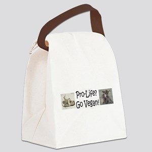ProLife Vegan Canvas Lunch Bag
