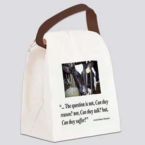 Can they suffer DARK SHIRT Canvas Lunch Bag