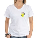 Pegrum Women's V-Neck T-Shirt