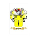Pegrum Sticker (Rectangle 50 pk)