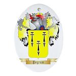Pegrum Oval Ornament