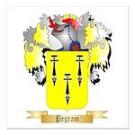 Pegram Square Car Magnet 3