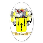 Pegram Sticker (Oval 50 pk)