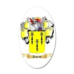 Pegram 20x12 Oval Wall Decal