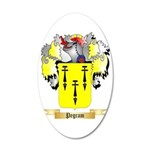 Pegram 35x21 Oval Wall Decal