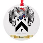 Peggs Round Ornament