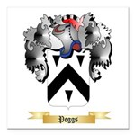 Peggs Square Car Magnet 3