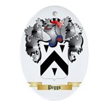 Peggs Oval Ornament