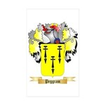 Peggram Sticker (Rectangle 50 pk)
