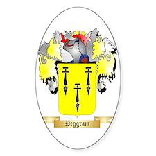 Peggram Sticker (Oval)