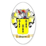 Peggram Sticker (Oval 10 pk)