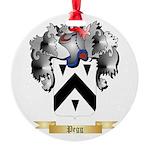 Pegg Round Ornament