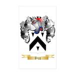 Pegg Sticker (Rectangle 50 pk)