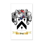 Pegg 35x21 Wall Decal