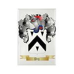 Peg Rectangle Magnet (100 pack)