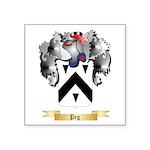 Peg Square Sticker 3