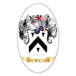 Peg Sticker (Oval 10 pk)