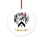 Peg Round Ornament