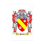 Peeter Sticker (Rectangle 50 pk)