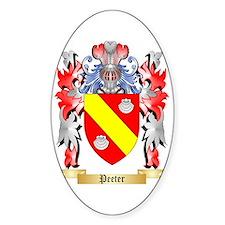 Peeter Sticker (Oval)