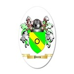 Peers 35x21 Oval Wall Decal