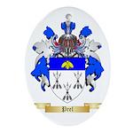 Peel Oval Ornament