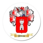 Pedrosa Round Car Magnet