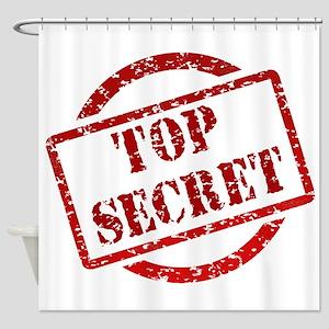 Top Secret Shower Curtain