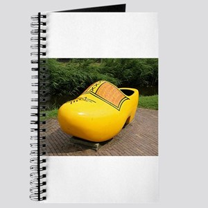 Giant yellow clog, Holland Journal