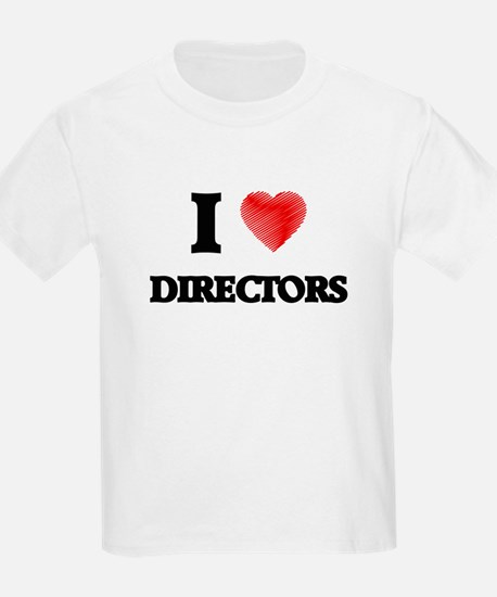 I love Directors (Heart made from words) T-Shirt