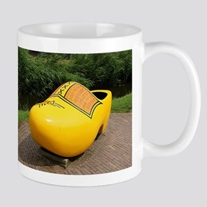 Giant yellow clog, Holland Mugs