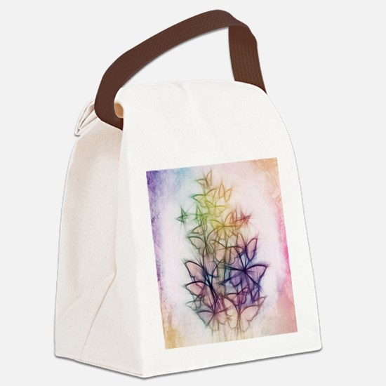 Funny Beauty Canvas Lunch Bag