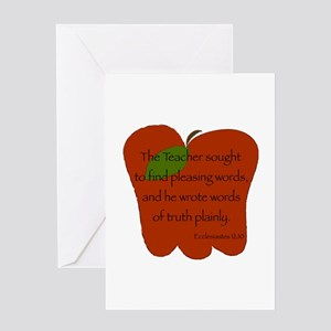 Ecclesiastes 12:10 Greeting Cards